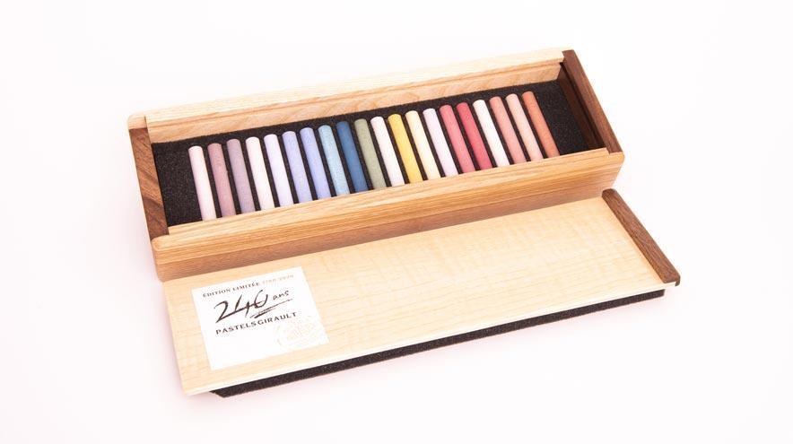 Pastels Girault - 20 teintes claires recrées pour multiplier vos possibilités