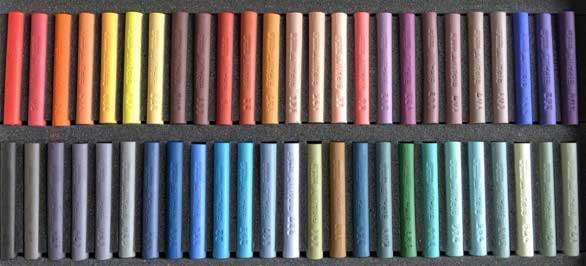 50 pastels assortis Sélection Claude TEXIER - Complément 1