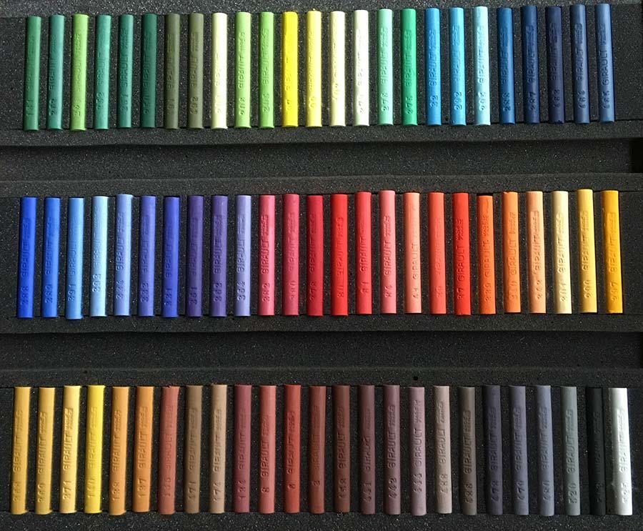 MIXTE - Coffret de 75 pastels