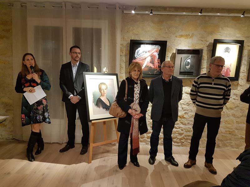 Discours inuaguration Galerie d'art Pastels Girault Montignac