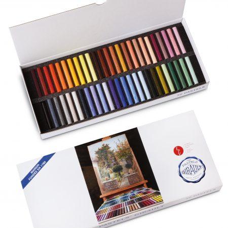 Étuis cartonnés 50 pastels