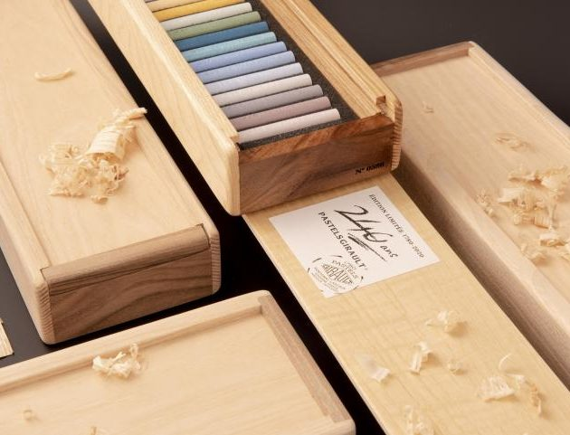 Exquisite wooden box edition 240 years